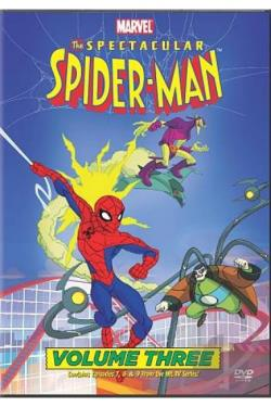 Spectacular Spider - Man: Vol. 3 DVD Cover Art