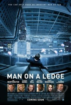 Man on a Ledge DVD Cover Art