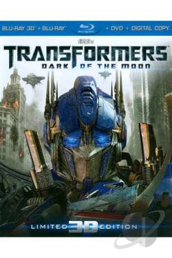 Transformers: Dark of the Moon BRAY Cover Art