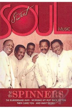 Sweet Soul Music - The Spinners DVD Cover Art