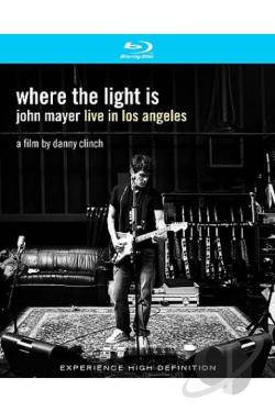 John Mayer - Where The Light Is: John Mayer Live In Los Angeles BRAY Cover Art