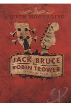 Jack Bruce & Robin Trower: Seven Moons Live DVD Cover Art