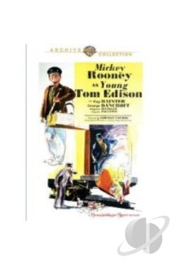 Young Tom Edison DVD Cover Art