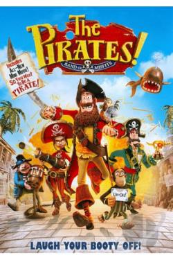 Pirates! Band of Misfits DVD Cover Art