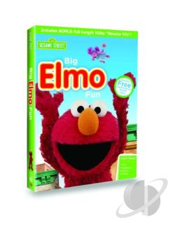 Sesame Street: Big Elmo Fun/Monster Hits! DVD Cover Art