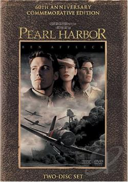 Pearl Harbor DVD Cover Art