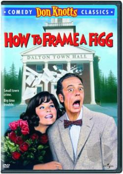 How to Frame a Figg DVD Cover Art