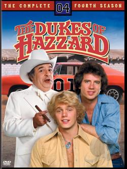 Dukes Of Hazzard - The Complete Fourth Season DVD Cover Art