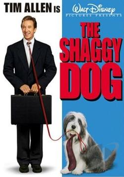 Shaggy Dog DVD Cover Art