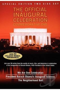 Official Inaugural Celebration DVD Cover Art