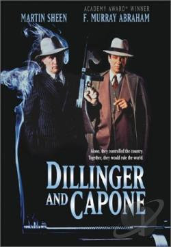 Dillinger and Capone DVD Cover Art