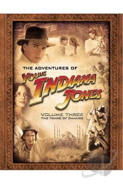 Adventures Of Young Indiana Jones - Volume 3 DVD Cover Art