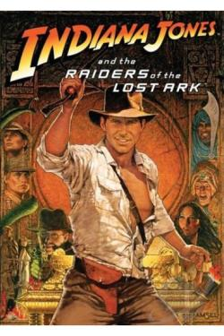 Indiana Jones & The Raiders Of The Lost Ark DVD Cover Art