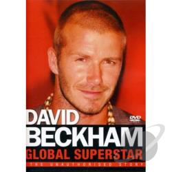 Beckham-Global Superstar DVD Cover Art
