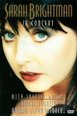 Sarah Brightman - In Concert DVD Cover Art
