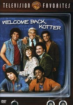 Welcome Back Kotter: TV Favorites-Compilation DVD Cover Art
