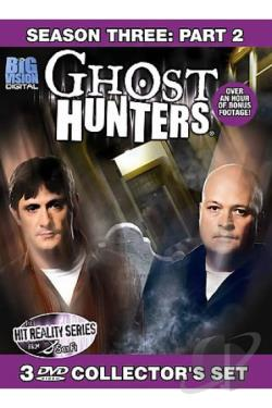 Ghost Hunters - Third Season: Part 2 DVD Cover Art
