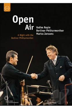 Open Air: A Night with the Berliner Philharmoniker DVD Cover Art