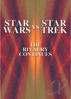 Star Wars vs. Star Trek DVD Cover Art