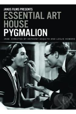 Pygmalion DVD Cover Art