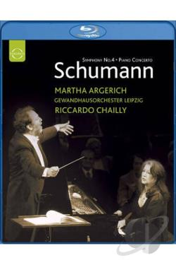 Schumann - Piano Concerto in A minor Op. 54/Symphony No. 4 in D minor Op. 120 BRAY Cover Art