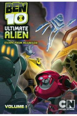Ben 10: Ultimate Alien, Vol. 1 DVD Cover Art