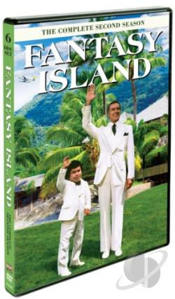 Fantasy Island - The Complete Second Season DVD Cover Art