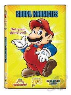 Super Mario Bros. Super Show!: Koopa's Kronicles DVD Cover Art