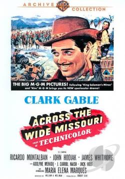 Across the Wide Missouri DVD Cover Art