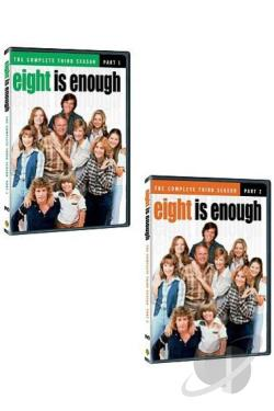 Eight Is Enough - The Complete Third Season DVD Cover Art