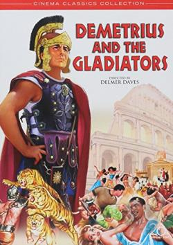 Demetrius and the Gladiators DVD Cover Art