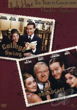 Big Broadcast of 1938/College Swing DVD Cover Art