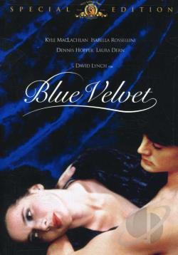Blue Velvet DVD Cover Art