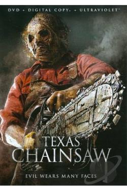 Texas Chainsaw DVD Cover Art