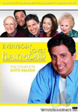 Everybody Loves Raymond - The Complete Sixth Season DVD Cover Art