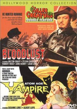 Bloodlust/Atom Age Vampire DVD Cover Art