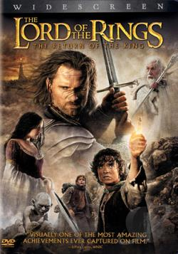 Lord of the Rings: The Return of the King DVD Cover Art