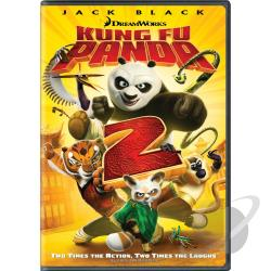 Kung Fu Panda 2 DVD Cover Art