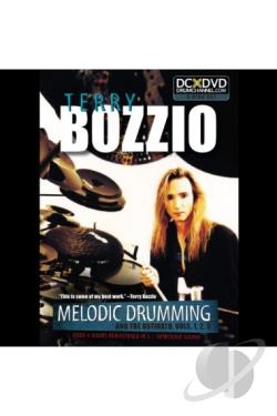 Terry Bozzio: Melodic Drumming and the Ostinato, Vols. 1, 2, 3 DVD Cover Art