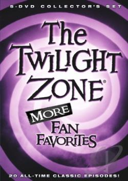 Twilight Zone: More Fan Favorites DVD Cover Art