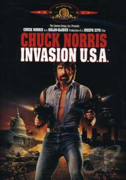 Invasion U.S.A. DVD Cover Art