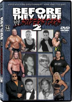 WWE - Before They Were Superstars 2 DVD Cover Art