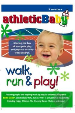 Athletic Baby - Walk, Run, & Play DVD Cover Art