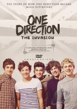 One Direction: The Invasion DVD Cover Art