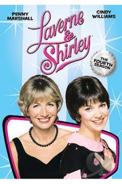 Laverne & Shirley - The Complete Fourth Season DVD Cover Art