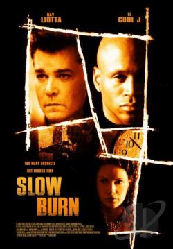 Slow Burn DVD Cover Art