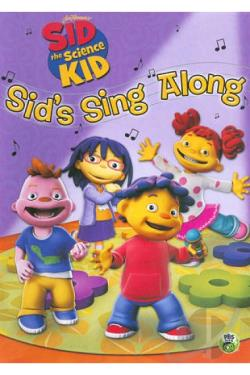Sid the Science Kid: Sid's Sing Along DVD Cover Art