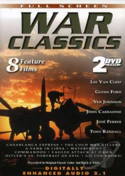 War Classics - Vol. 1: 8 Feature Films DVD Cover Art