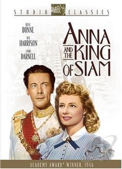 Anna and the King of Siam DVD Cover Art