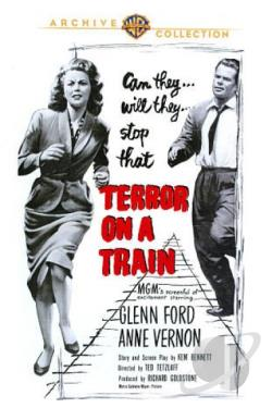 Terror on a Train DVD Cover Art